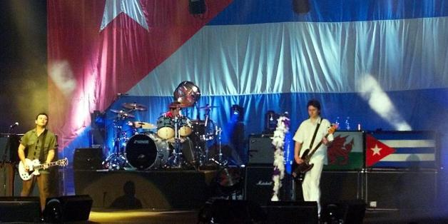 The British rock band Manic Street Preachers perfo